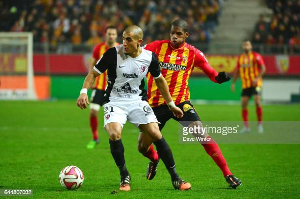 Ahmed KASHI / Ludovic BAAL Lens / Metz 15eme journee de Ligue 1 Amiens Photo Dave Winter / Icon Sport