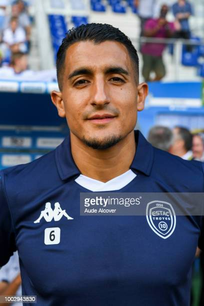 Ahmed Kashi of Troyes during the friendly match between Troyes and Auxerre at Stade de l'Aube on July 20 2018 in Troyes France