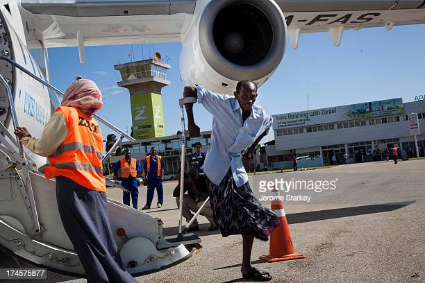 CONTENT] Ahmed Katib Omar who lost his leg to a bullet in Mogadishu returns to his native Zanzibar after more than ten years as a refugee in Somalia...