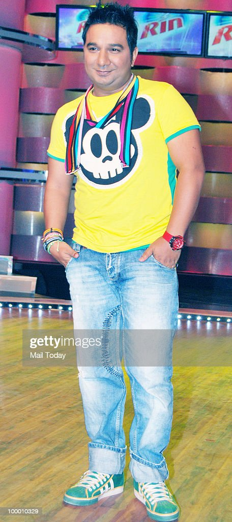 Ahmed Khan on the sets of the show Chak Dhoom Dhoom in Mumbai on May 18, 2010.