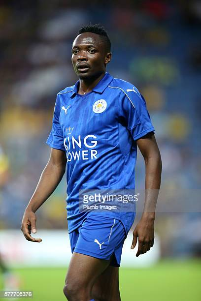 Ahmed Musa of Leicester City during the pre season friendly between Oxford United and Leicester City at Kassam Stadium on July 19 2016 in Oxford...