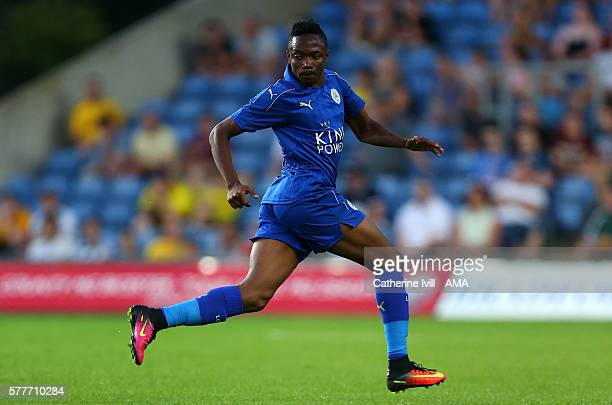 Ahmed Musa of Leicester City during the PreSeason Friendly match between Oxford United and Leicester City at Kassam Stadium on July 19 2016 in Oxford...
