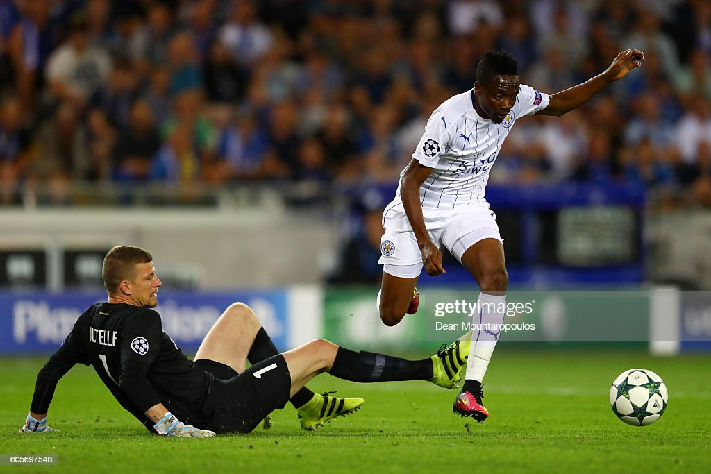 Club Brugge KV v Leicester City FC - UEFA Champions League