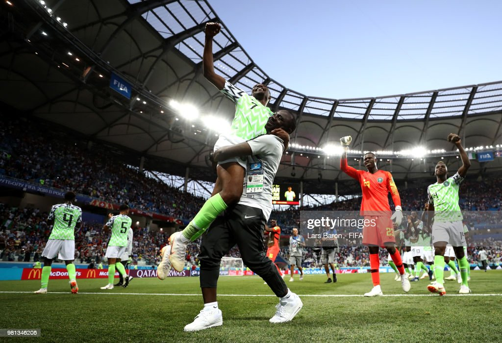Nigeria 2 - 0 Iceland - FIFA World Cup Russia 2018