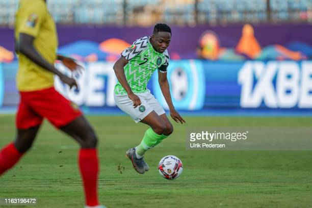 Ahmed Musa of Nigeria during the 2019 Africa Cup of Nations match between Nigeria and Cameroon on the July 6th, 2019. Photo : Ulrik Pedersen / Icon...