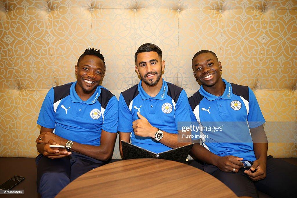 Leicester City Depart On Their Pre-Season US Tour : News Photo