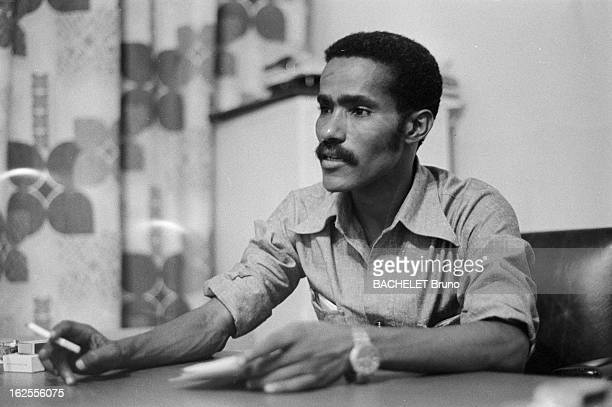 Ahmed Nasser President Of The Liberation Front Of Eritrea