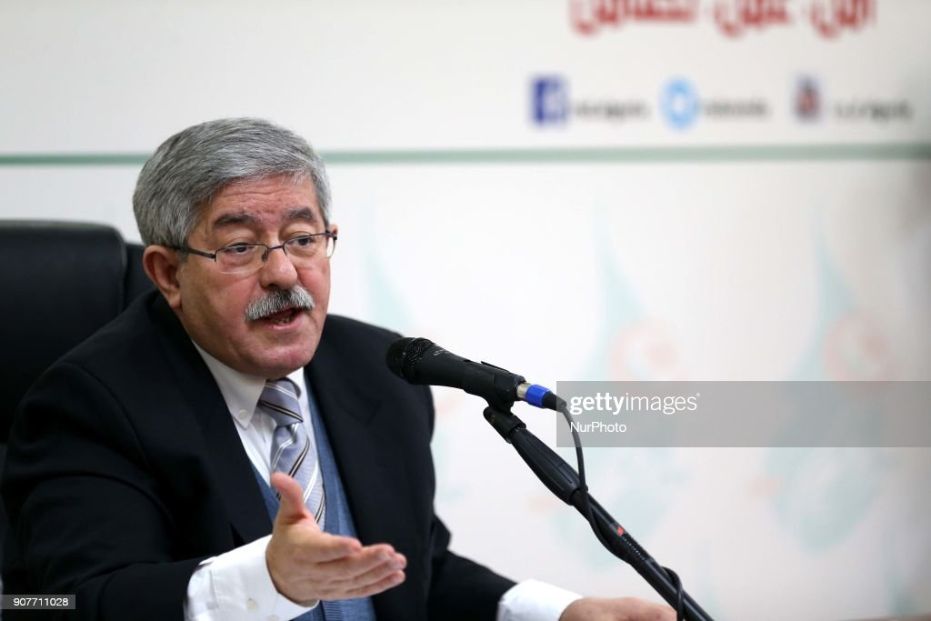 Press Conference by Ahmed Ouyahia