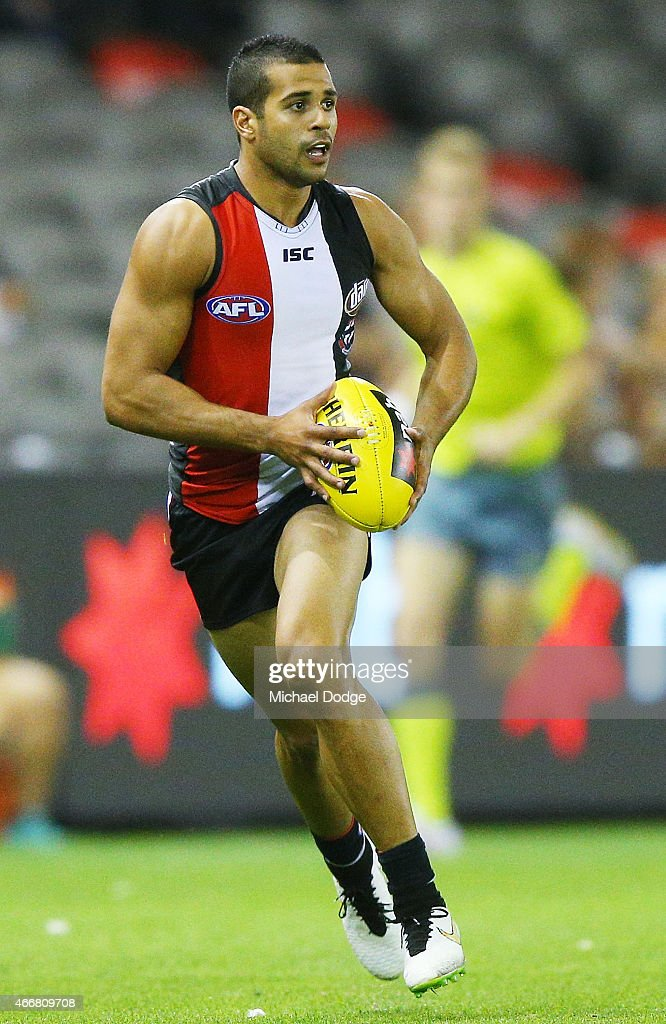 NAB Challenge - St Kilda v Hawthorn : News Photo