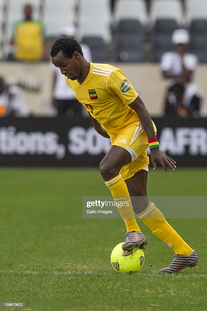 Ahmed Salahdin Said during the 2013 Orange African Cup of Nations match between Zambia and Ethiopia from Mbombela Stadium on January 21, 2012 in Nelspruit, South Africa
