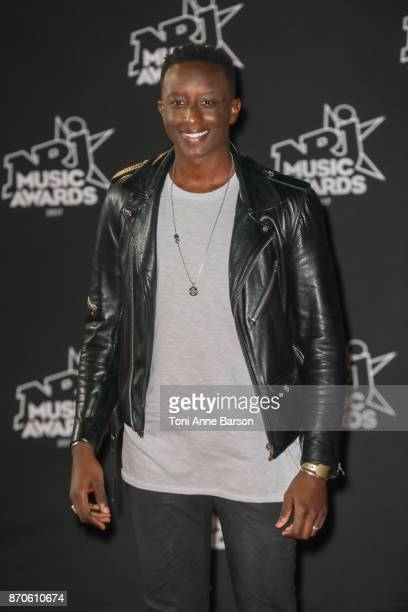 Ahmed Sylla arrives at the 19th NRJ Music Awards ceremony at the Palais des Festivals on November 4 2017 in Cannes France