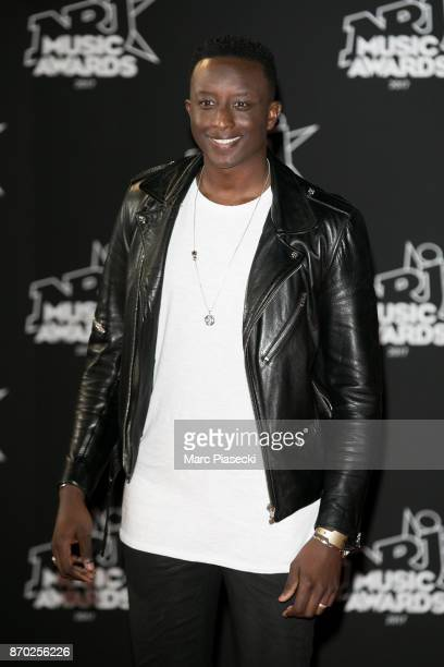 Ahmed Sylla attends the 19th 'NRJ Music Awards' ceremony on November 4 2017 in Cannes France