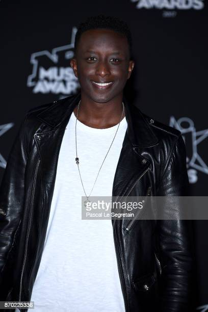 Ahmed Sylla attends the 19th NRJ Music Awards on November 4 2017 in Cannes France