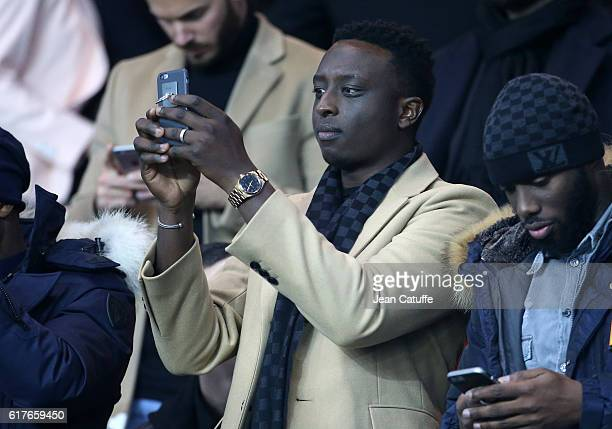 Ahmed Sylla attends the French Ligue 1 match between Paris SaintGermain PSG and Olympique de Marseille at Parc des Princes stadium on October 23 2016...
