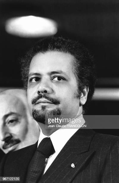 Ahmed Zaki Yamani ministre saoudien du Pétrole et des Ressources minérales et un des membres fondateurs de l'Organisation des Pays exportateurs de...