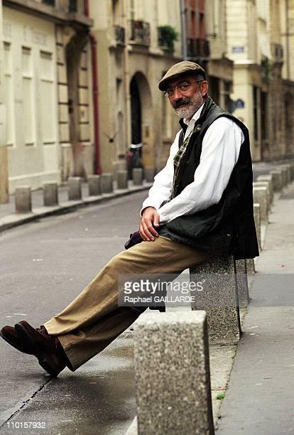 Ahmet Atlan Turkish writer in France on October 04 2000
