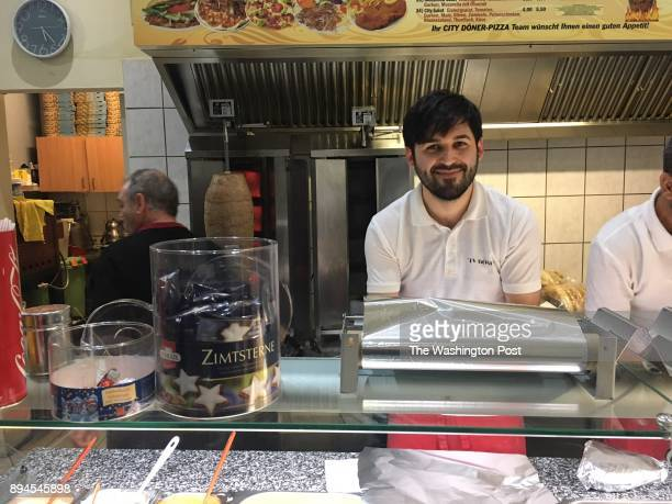 Ahmet Demir the 27yearold kebab shop owner who with his parents halted the knife attack on Altena mayor Andreas Hollstein