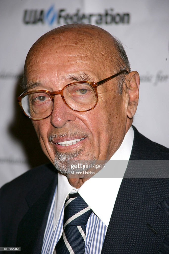 Ahmet Ertegun during New York's Music Visionary Awards at Pierre Hotel Ballroom in New York, New York, United States.