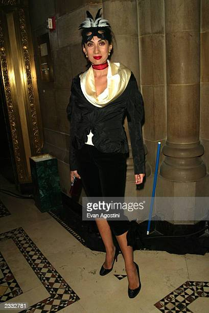 Ahn Duong at Dolce Gabbana's Halloween Party at Cipriani 42nd Street in New York City October 31 2002 Photo by Evan Agostini/ImageDirect