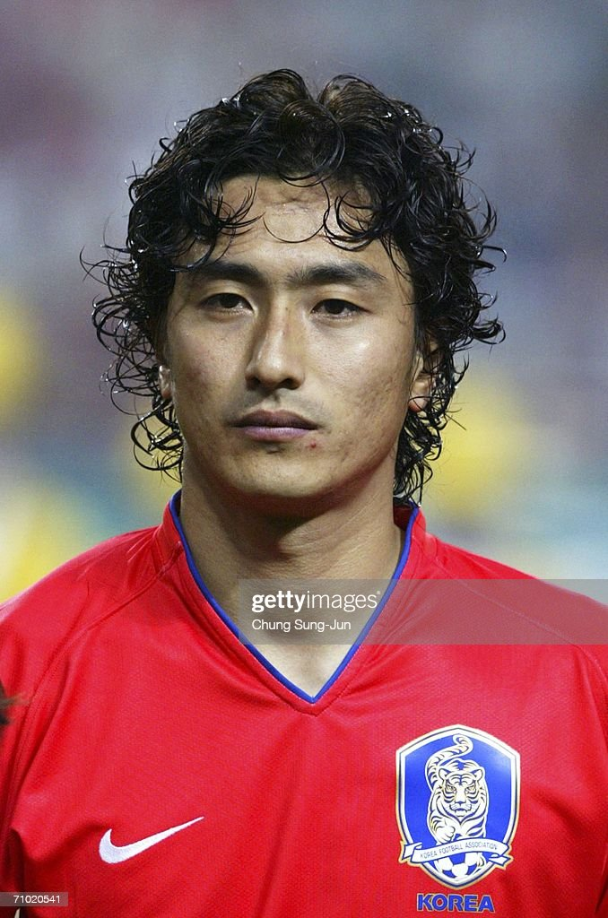 Ahn Jung Hwan Of South Korea During The International Friendly Match Between South Korea And