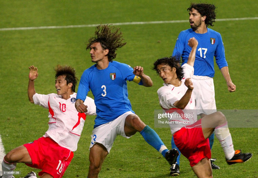 South Korea v Italy - FIFA World Cup Korea/Japan Round of 16 : News Photo