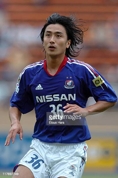 Ahn JungHwan of Yokohama F Marinos in action during the JLeague Division 1 second stage match between Yokohama F Marinos and Vissel Kobe at the...