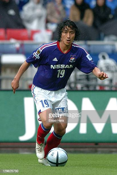 Ahn JungHwan of Yokohama F Marinos in action during the JLeague match between Yokohama F Marinos and Urawa Red Diamonds at Nissan Stadium on May 15...