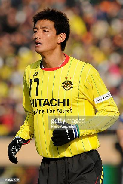 Ahn YoungHak of Kashiwa Reysol in action during the Fuji Xerox Super Cup match between Kashiwa Reysol and FC Tokyo at the National Stadium on March 3...