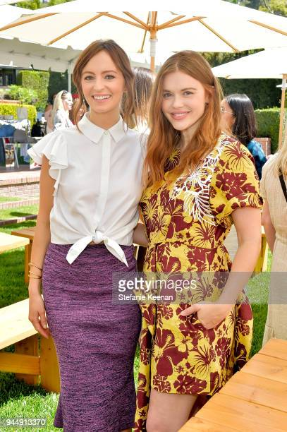 Ahna O'Reilly and Holland Roden attend Stella McCartney HEART Brunch 2018 at Private Residence on April 11 2018 in Los Angeles California