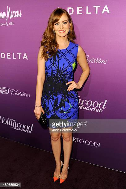 Ahna O'reilly arrives at The Hollywood Reporter's 3rd Annual Academy Awards nominees night at Spago on February 2 2015 in Beverly Hills California