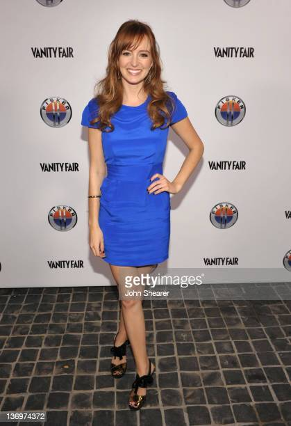 Ahna O'Reilly arrives to Vanity Fair Fisker Automotive Toast Dreamworks Pictures Golden Globes Best Drama Nominations 'The Help' And 'War Horse' at...