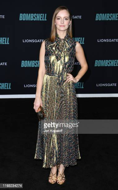 """Ahna O'Reilly attends Special Screening Of Liongate's """"Bombshell"""" at Regency Village Theatre on December 10, 2019 in Westwood, California."""