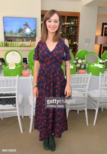 Ahna O'Reilly attends the Tata Harper VIP Masterclass at Sunset Tower on December 14 2017 in Los Angeles California