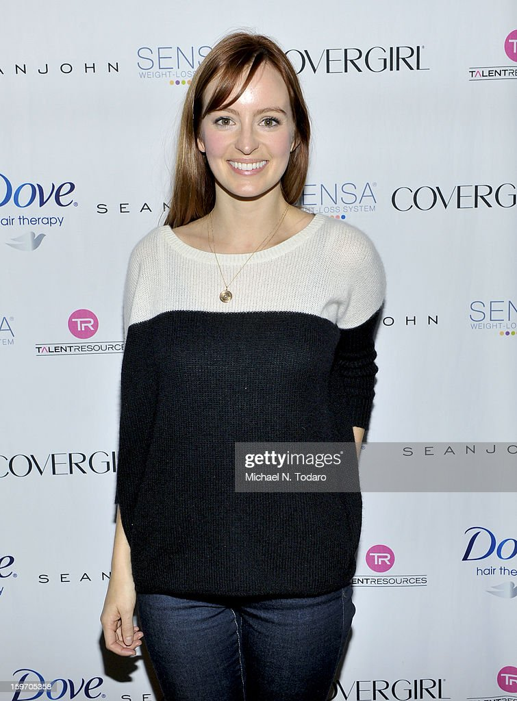 Ahna O'Reilly attends the TR Suites Daytime Lounge - Day 1 on January 18, 2013 in Park City, Utah.