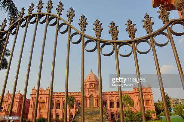 Ahsan Manzil situated at Kumartoli in Dhaka on the banks of the Buriganga River Built in the mid 1800s it was the residential palace and the kachari...