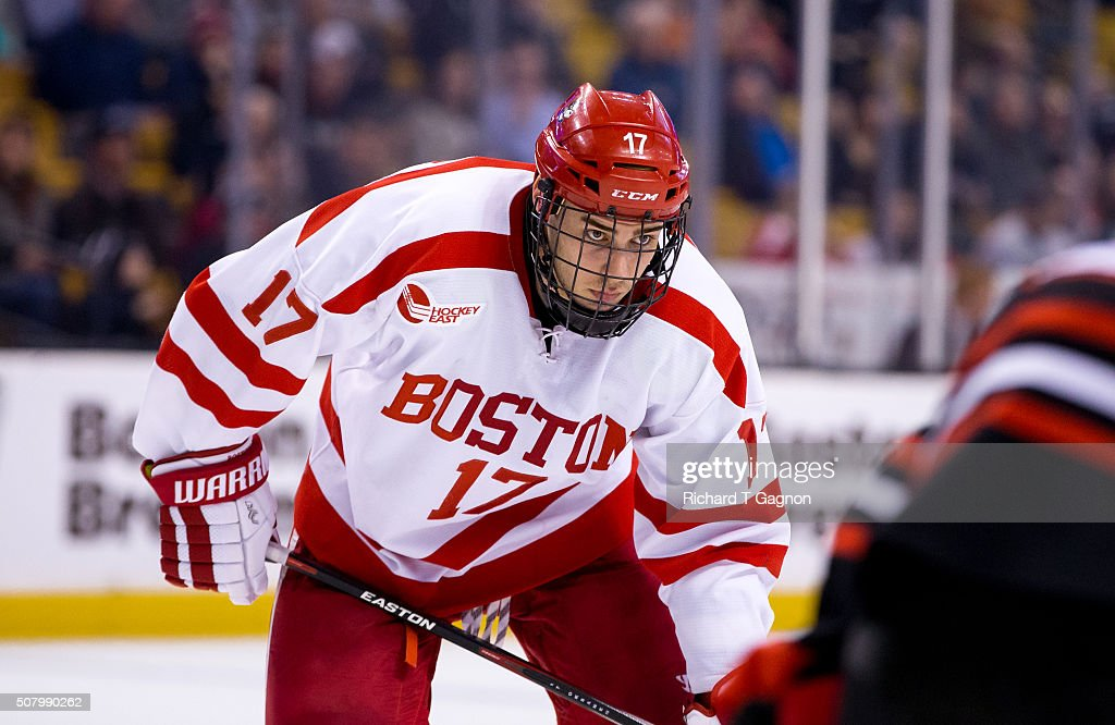 2016 Beanpot Tournament - Semifinals : News Photo