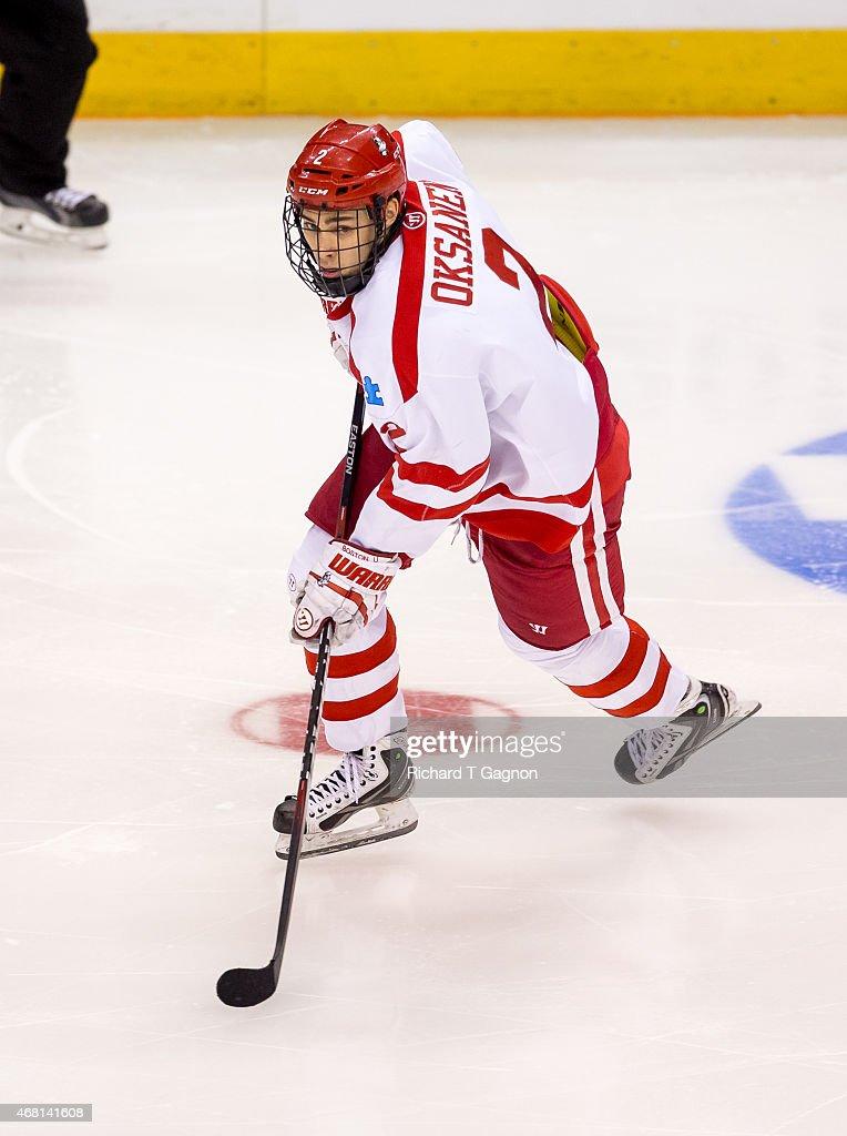 2015 NCAA Division I Men's Ice Hockey Championship - Northeast Regional : News Photo