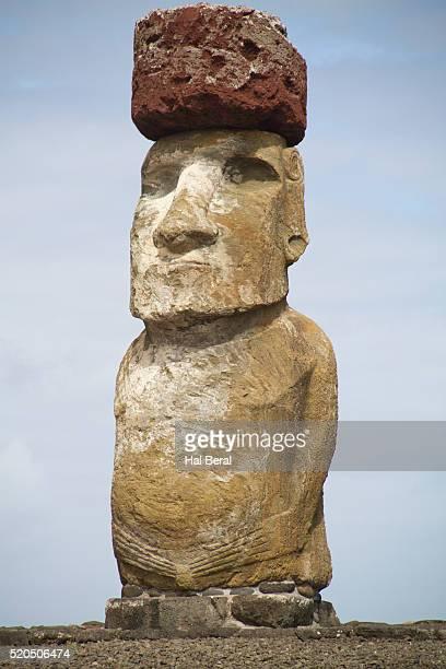 Ahu Tongariki statue called moai