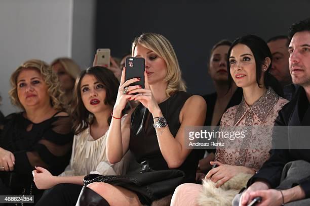 Ahu Yagtu attend the Ozgur Masur show during Mercedes Benz Fashion Week Istanbul FW15 on March 17 2015 in Istanbul Turkey