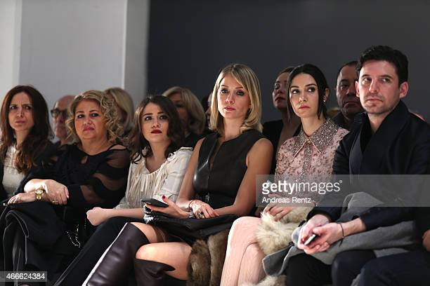 Ahu Yagtu attends the Ozgur Masur show during Mercedes Benz Fashion Week Istanbul FW15 on March 17 2015 in Istanbul Turkey
