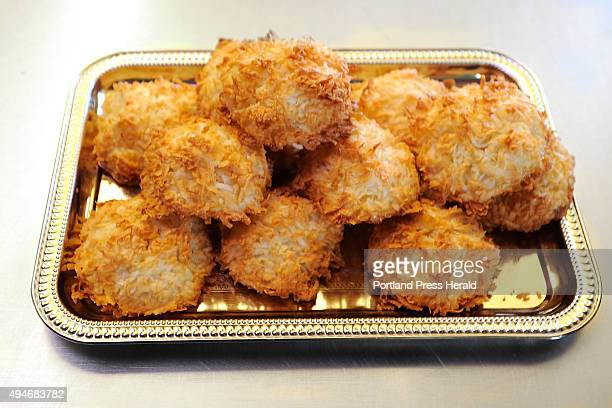 Ahura Diliiza owner of Daily Bread Bakery makes his coconut macaroons gluten free and salt free