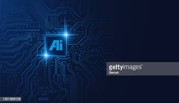 ai chipset on circuit board - ai stock pictures, royalty-free photos & images