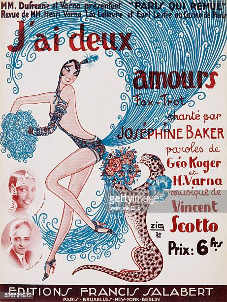 J'ai Deux Amours Poster by Zig