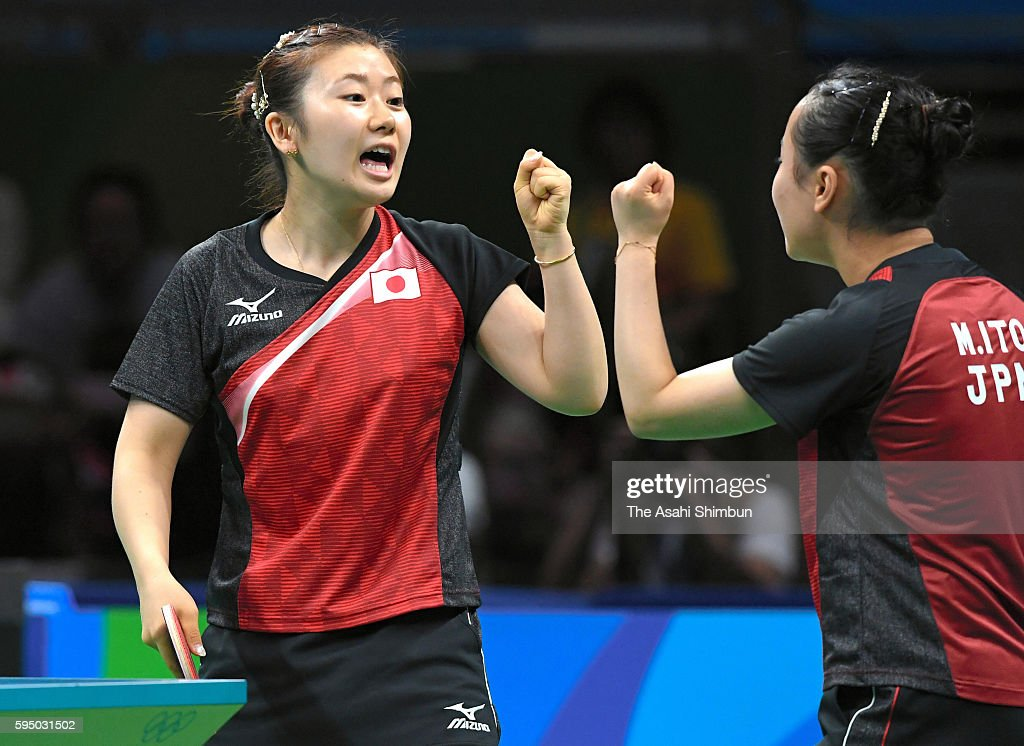 Table Tennis - Olympics: Day 11 : News Photo