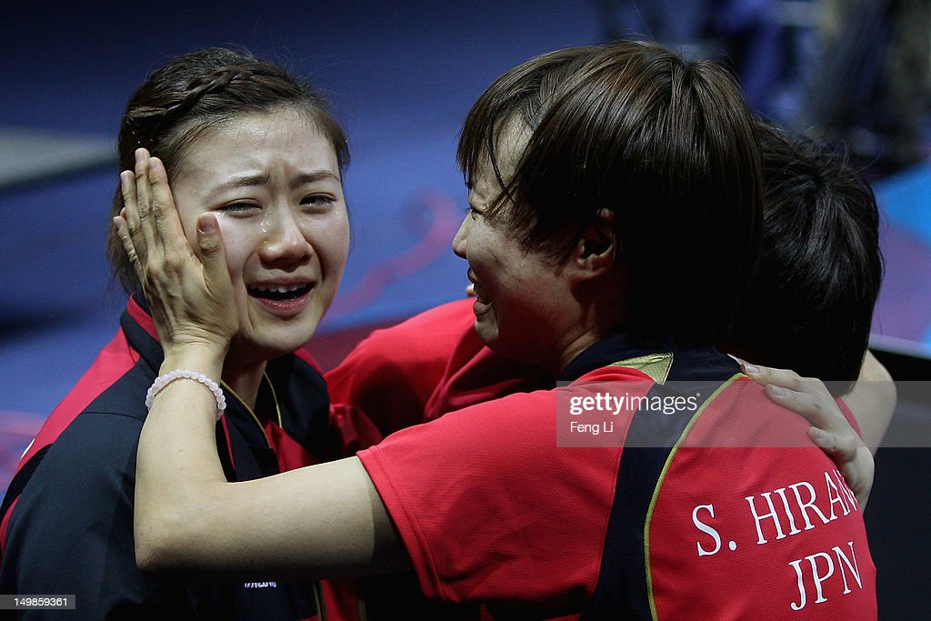 Olympics Day 9 - Table Tennis : News Photo