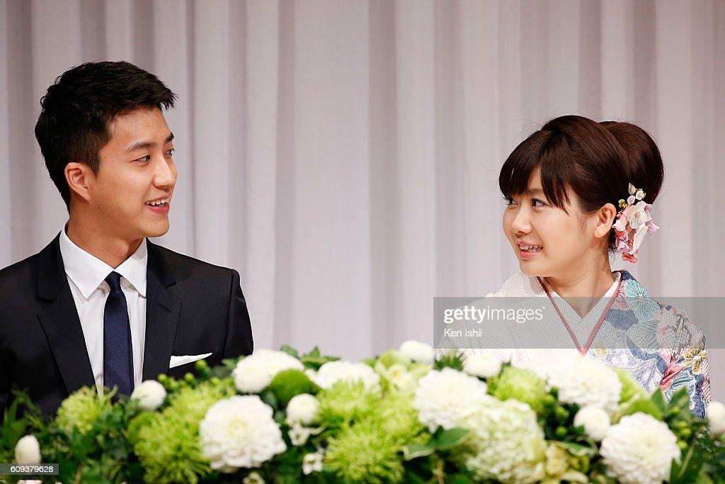 Ai Fukuhara Press Conference : News Photo