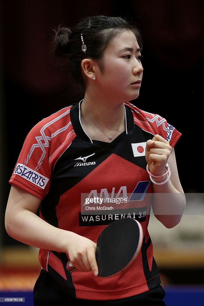 Table Tennis World Tour Japan Open In Yokohama - Day 2 : News Photo
