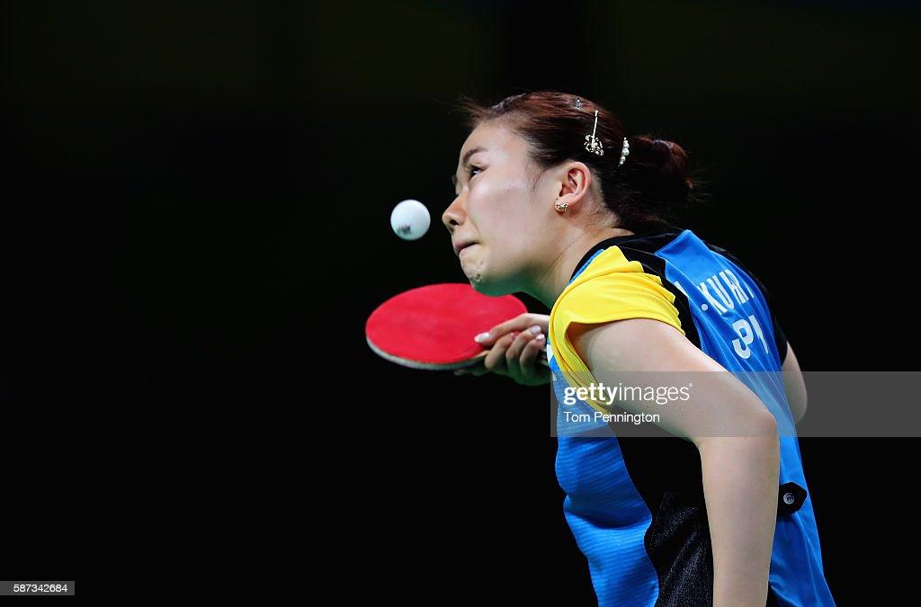Table Tennis - Olympics: Day 3 : News Photo