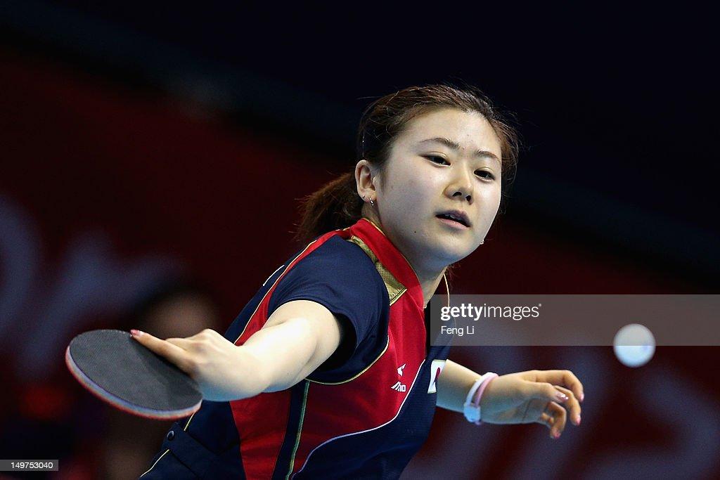 Olympics Day 7 - Table Tennis : News Photo