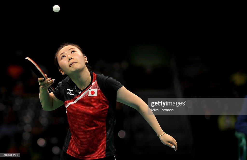 Table Tennis - Olympics: Day 11 : News Photo